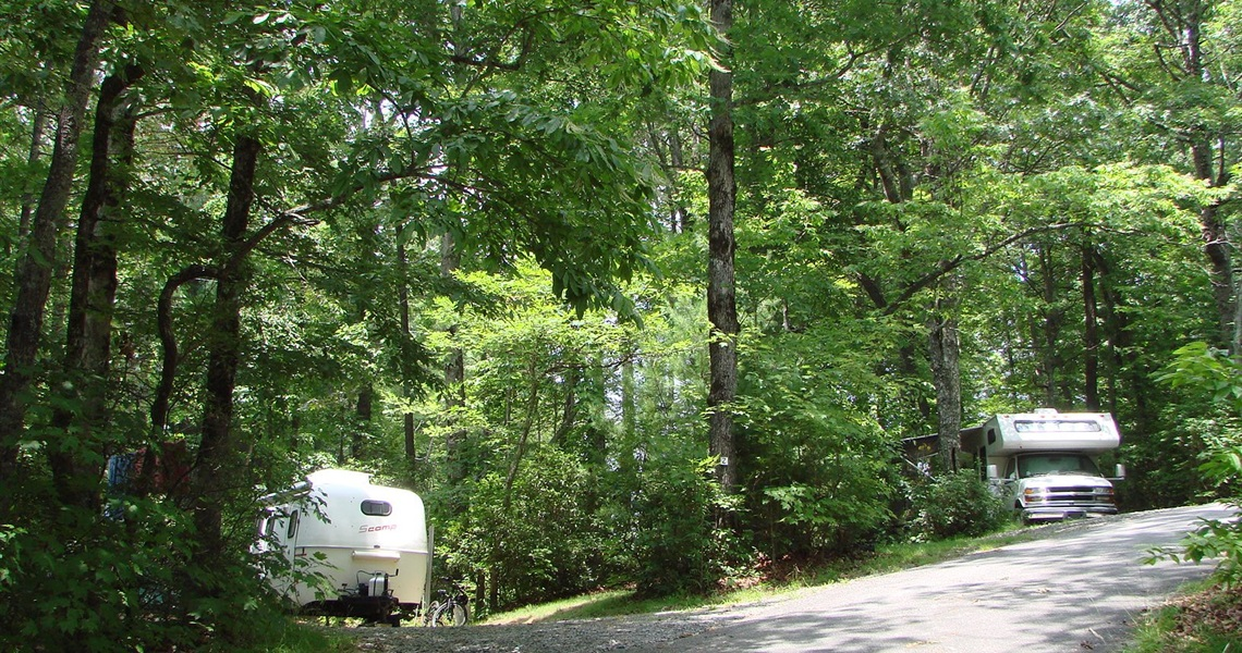 Shady RV Sites
